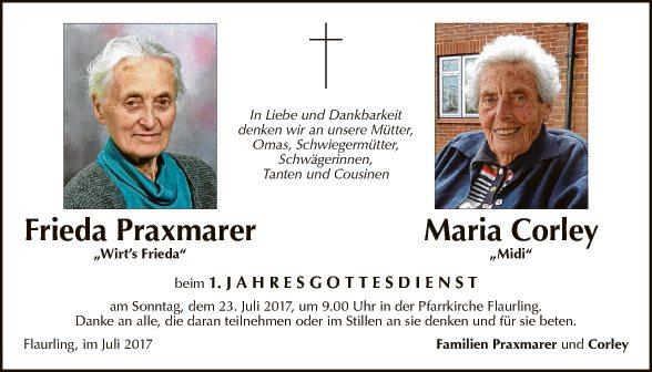 F. Praxmarer + M. Corley