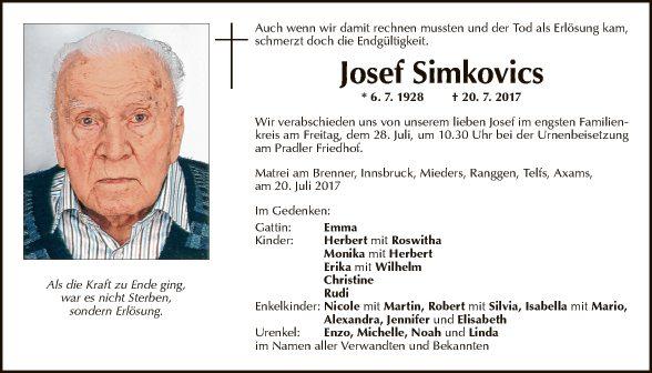 Josef Simkovics