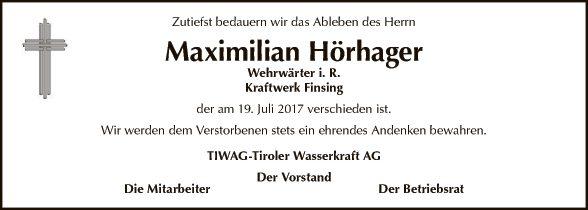 Maximilian Hörhager