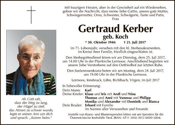 Gertraud Kerber