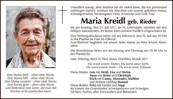Maria Kreidl