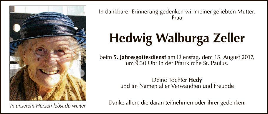 Hedwig Zeller