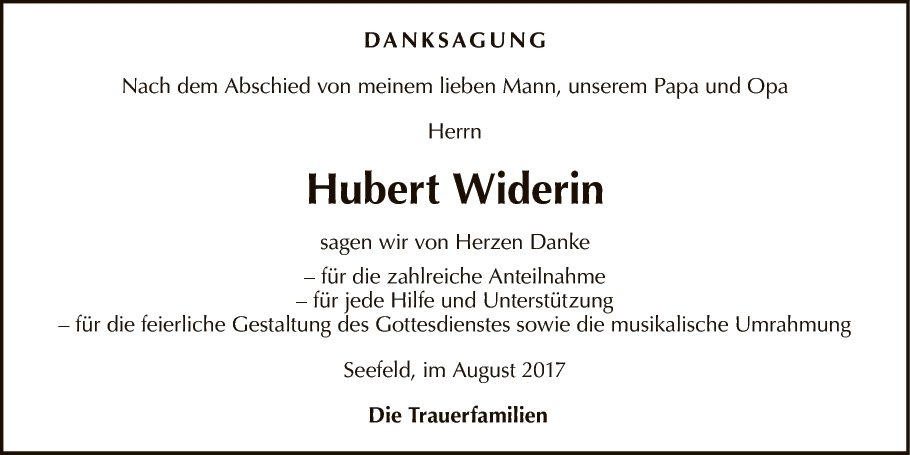 Hubert Widerin