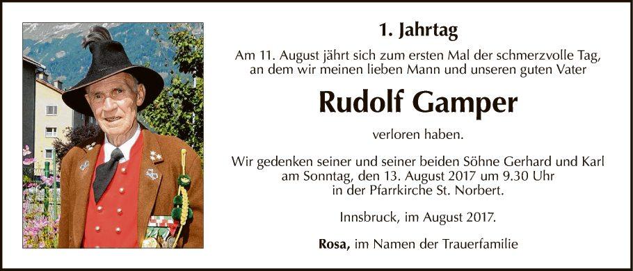Rudolf Gamper