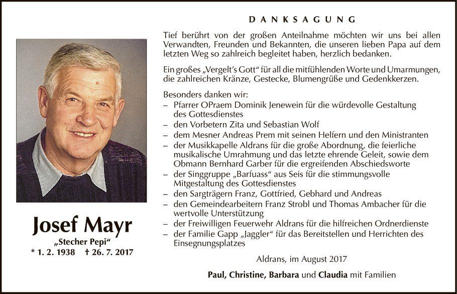 Josef Mayr