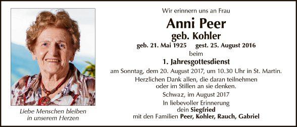 Anni Peer