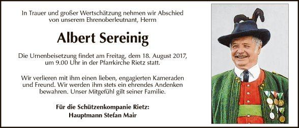 Albert Sereinig