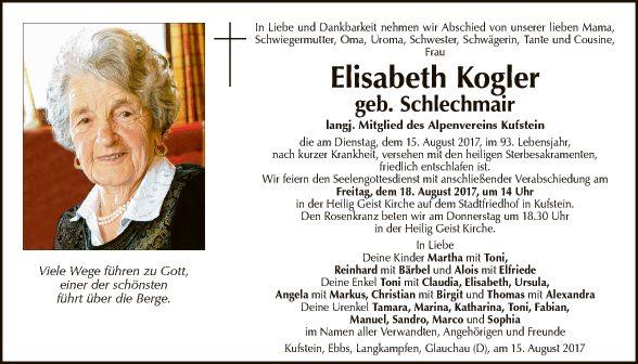 Elisabeth Kogler