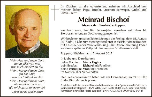Meinrad Bischof