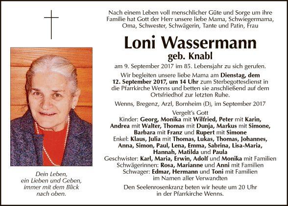 Loni Wassermann