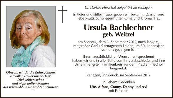 Ursula Bachlechner