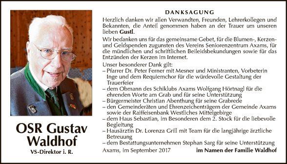 OSR Gustav Waldhof