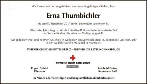 Erna Thurnbichler