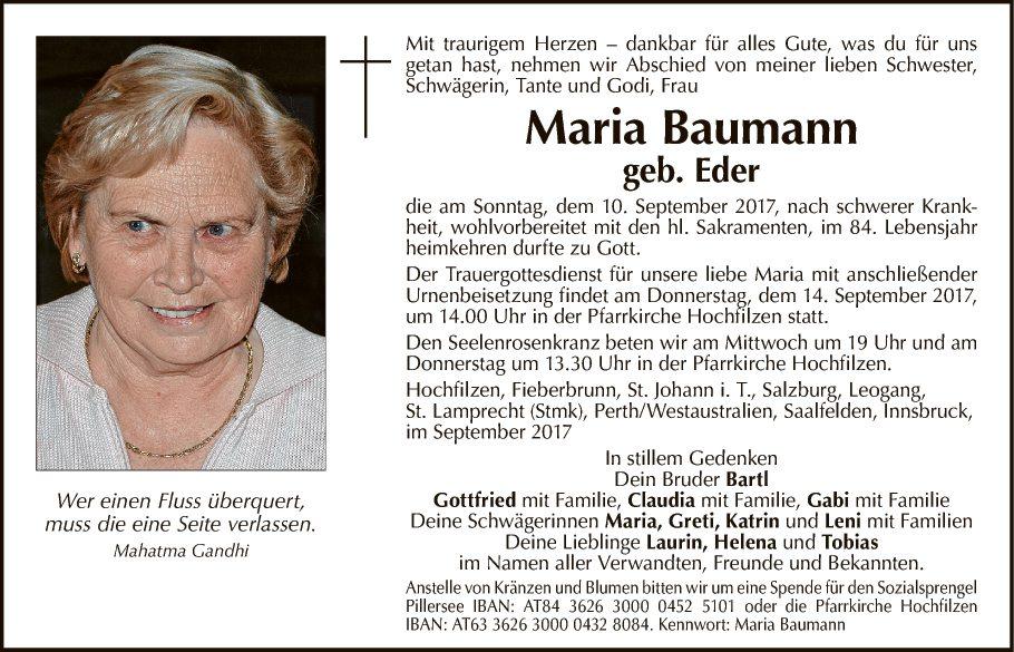 Maria Baumann