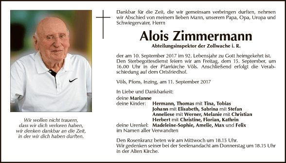 Alois Zimmermann