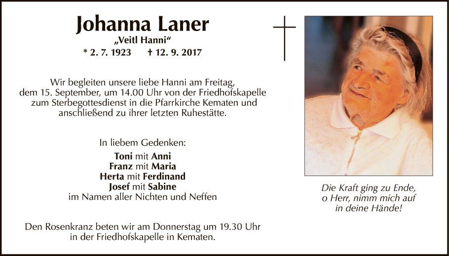 Johanna Laner