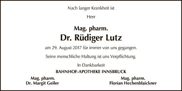 Rüdiger Lutz
