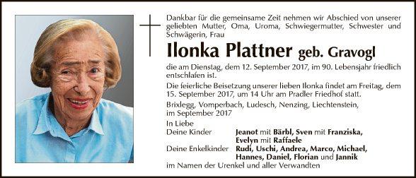 Ilonka Plattner