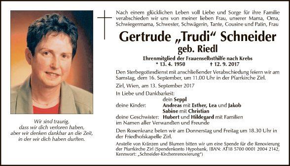 Gertrude Schneider