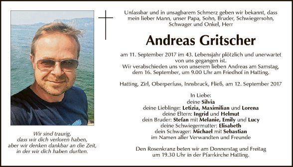 Andreas Gritscher