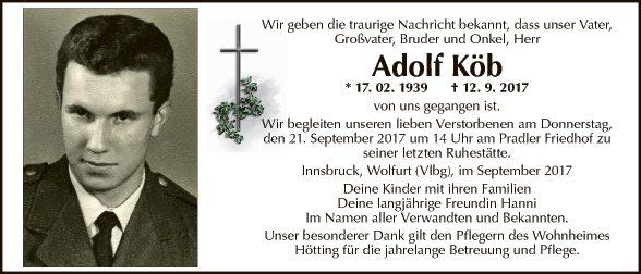 Adolf Köb