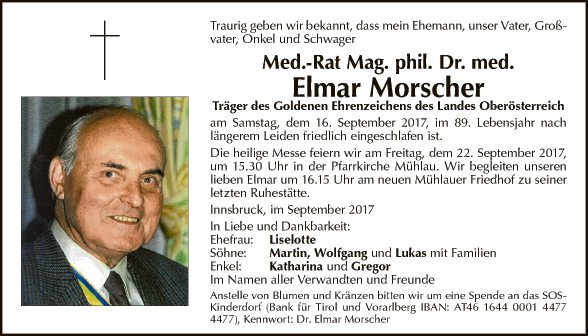 Dr. Elmar Moscher