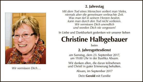 Christine Halbgebauer