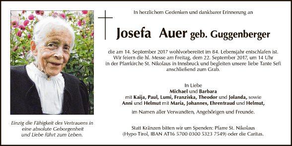 Josefa Auer