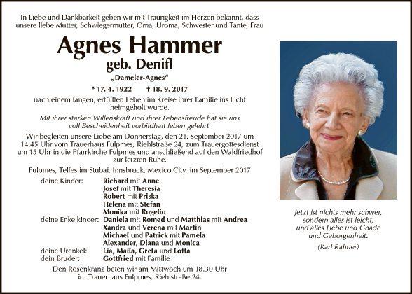 Agnes Hammer