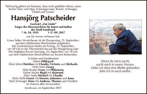 Hansjörg Patscheider
