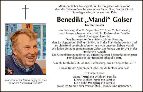 Benedikt Golser