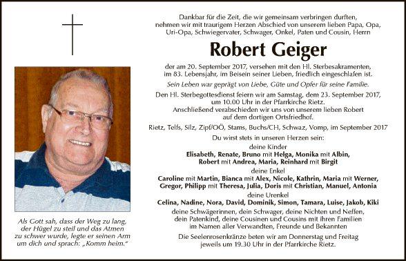 Robert Geiger