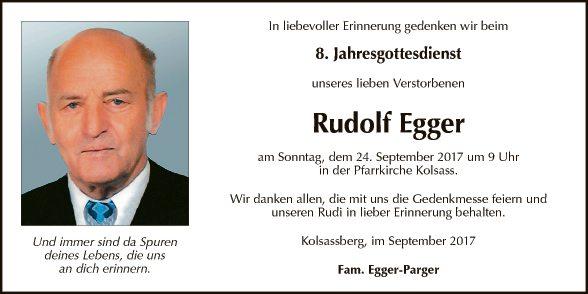 Rudolf Egger
