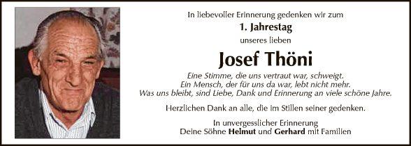 Josef Thöni