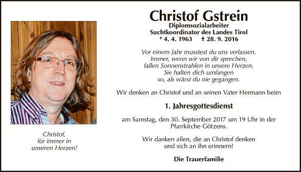 Christoph Gstrein