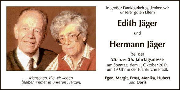 Edith und Hermann Jäger