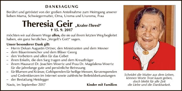 Theresia Geir