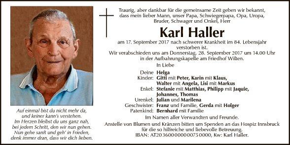 Karl Haller
