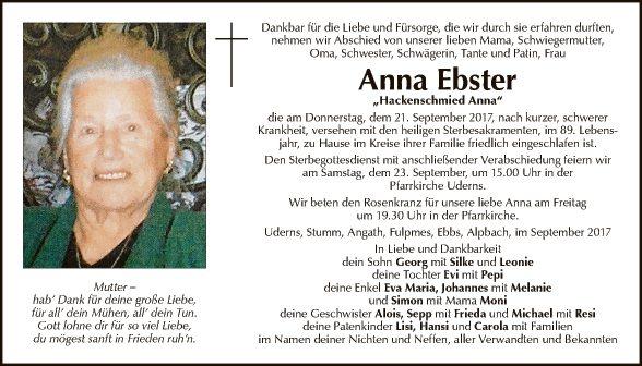 Anna Ebster