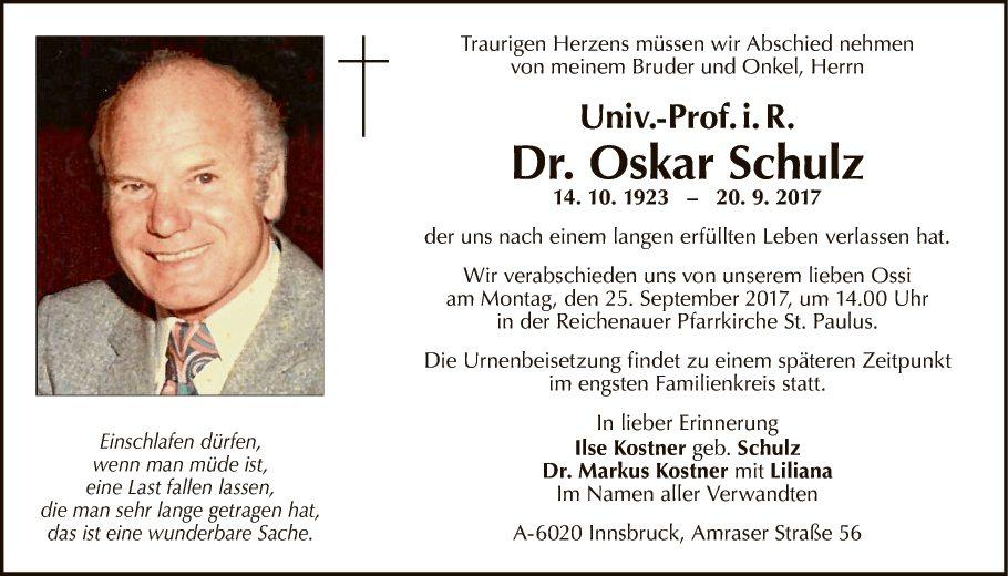 Oskar Schulz