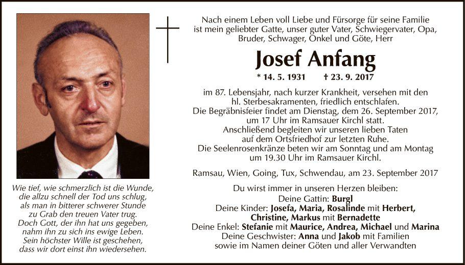 Josef Anfang
