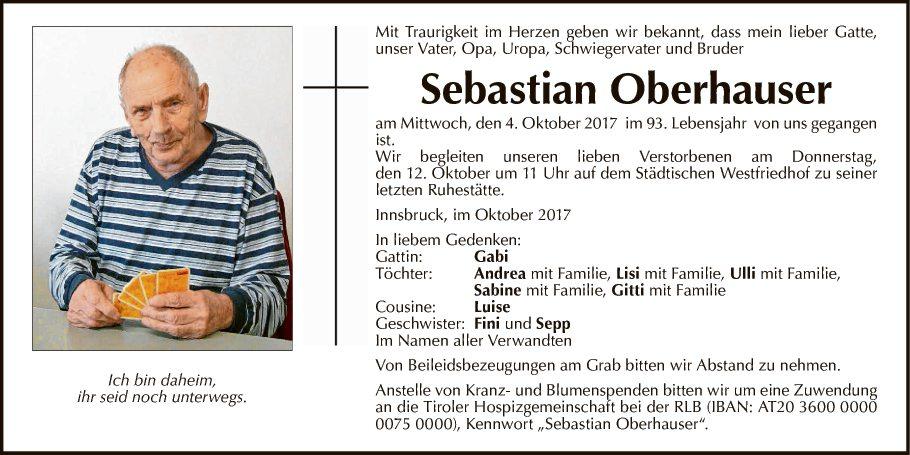 Sebastian Oberhauser