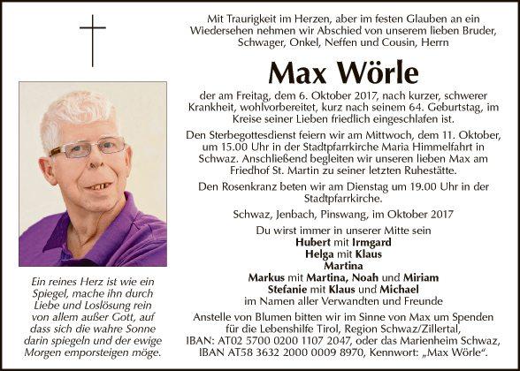 Max Wörle