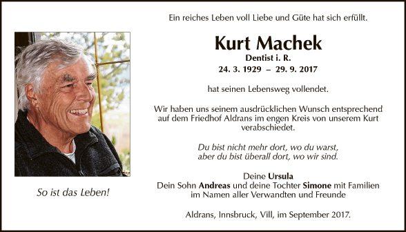 Kurt Machek