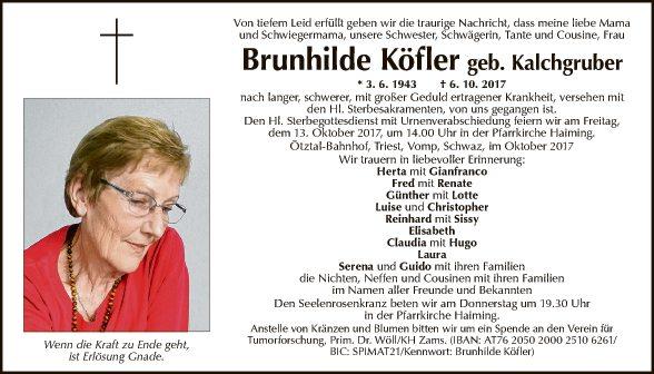 Brunhilde Köfler