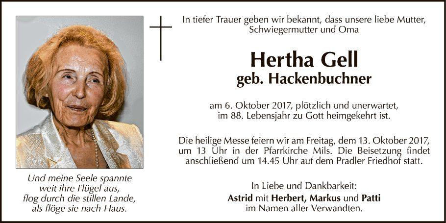 Hertha Gell