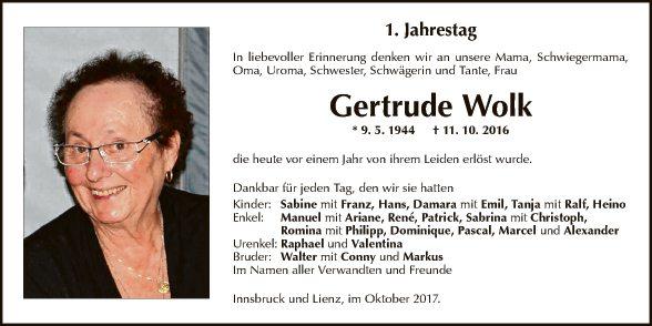 Gertrude Wolk