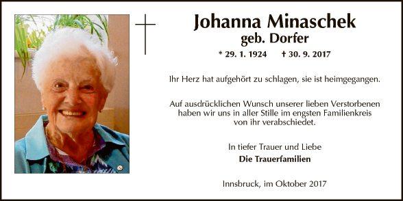 Johanna Minaschek