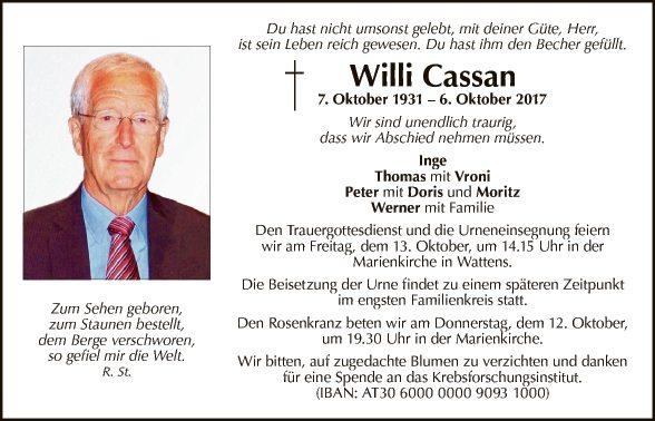 Willi Cassan