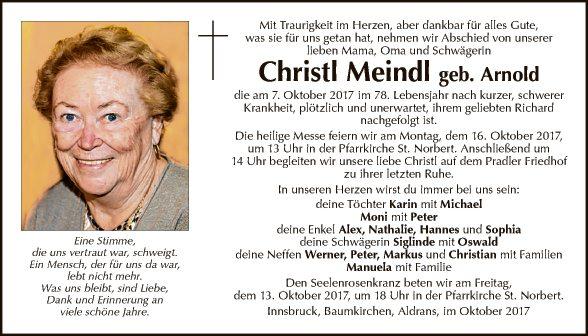 Christl Meindl